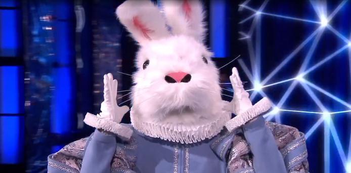 Het konijn in The Masked Singer