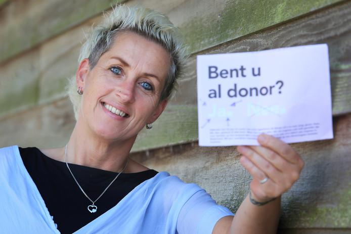 """Wilma de Joode: ,,Ik heb mensen gesproken die leven met één nier ook na een donatie. Zij functioneren prima."""""""