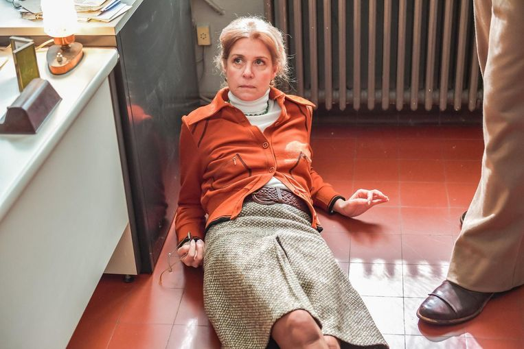 Ook Barbara Sarafian speelt een rol in familiedrama 'Superette Anna'.