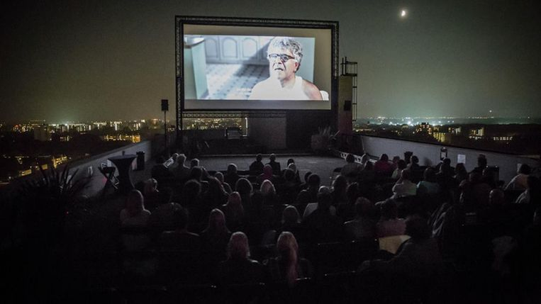 Film op het dak van de VU Beeld On The Roof Film Festival