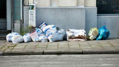 Afvalophaling in Brussel verstoord door vakbondsactie