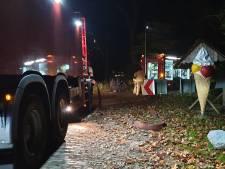 Chalet op camping Twente onbewoonbaar na brand
