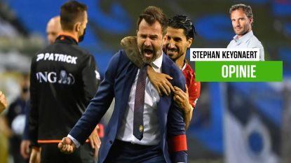 """Onze chef voetbal Stephan Keygnaert roemt het voortschrijdend inzicht van Ivan Leko: """"Hij remt nu al eens voor de chicane"""""""