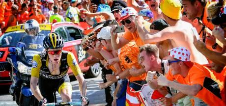 Steven Kruijswijk verovert harten met monsteraanval: 'De eenzame fietser, held van de dag'
