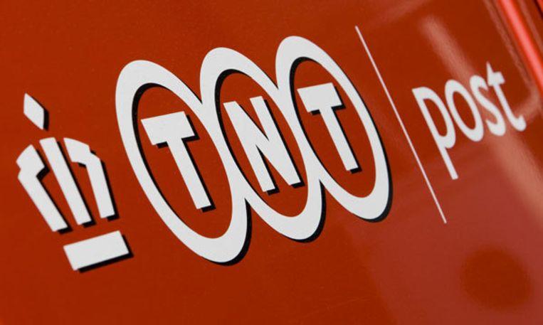 Vanochtend was TNT kort na het openen van de Amsterdamse beurs de grootste daler. Foto ANP Beeld