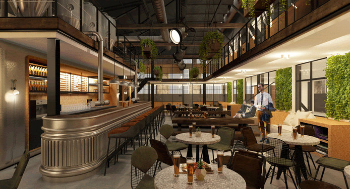 Het Ketelhuis op KVL gaat een nieuwe toekomst als brouwerij tegemoet