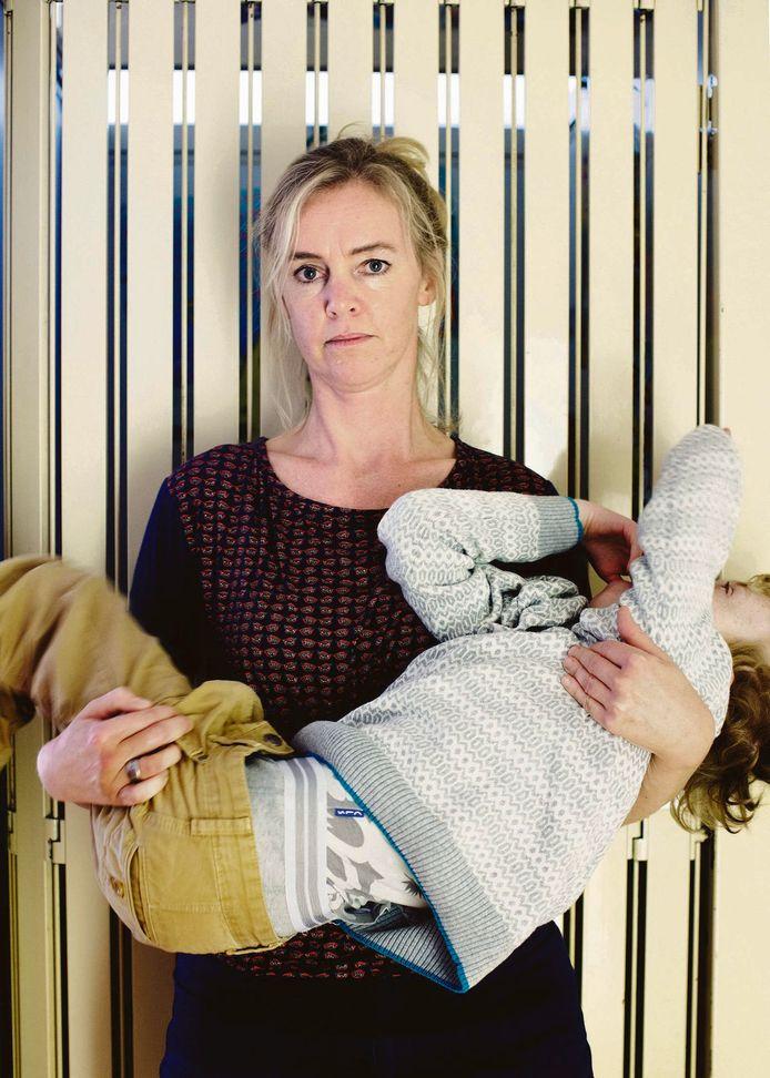 Annemarie Haverkamp met haar zoon Job