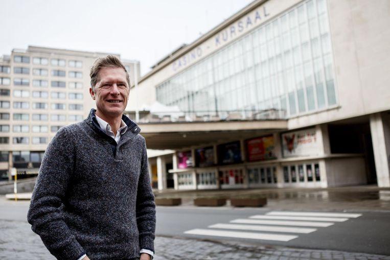 Peter Craeymeersch van Toerisme Oostende nam in 2011 ook de leiding van het Kursaal op zich.