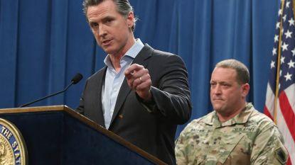 """Gouverneur Californië wil niet meedoen met """"gefabriceerde"""" migratiecrisis en haalt soldaten weg van grens"""