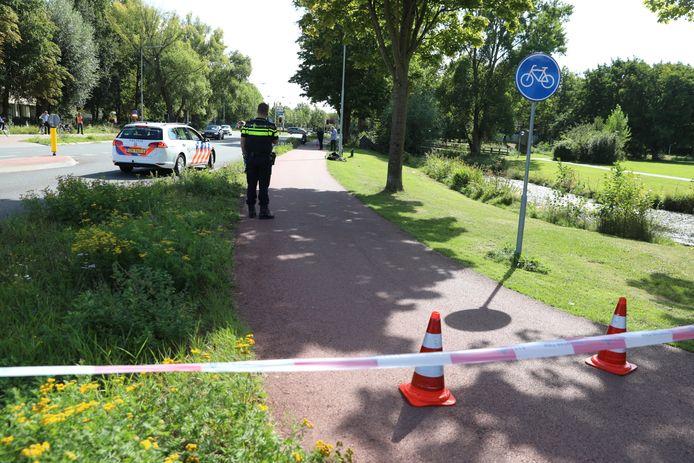 Fietser zwaargewond in Wageningen.