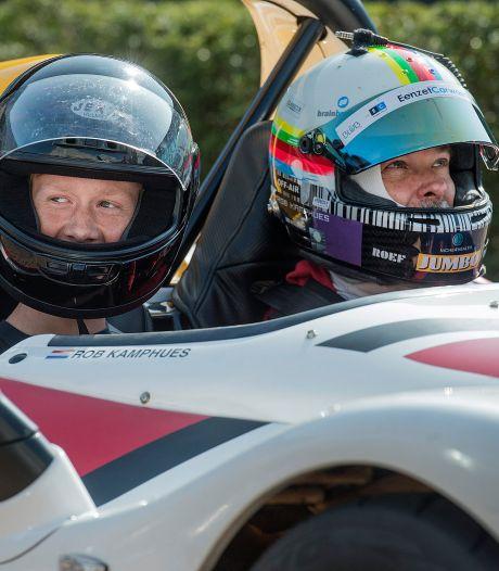 Tijn (15) mag na ziektebed racen met Rob Kamphues: 'Heel vet om mee te maken'