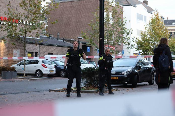 Politie is in grote getalen aanwezig