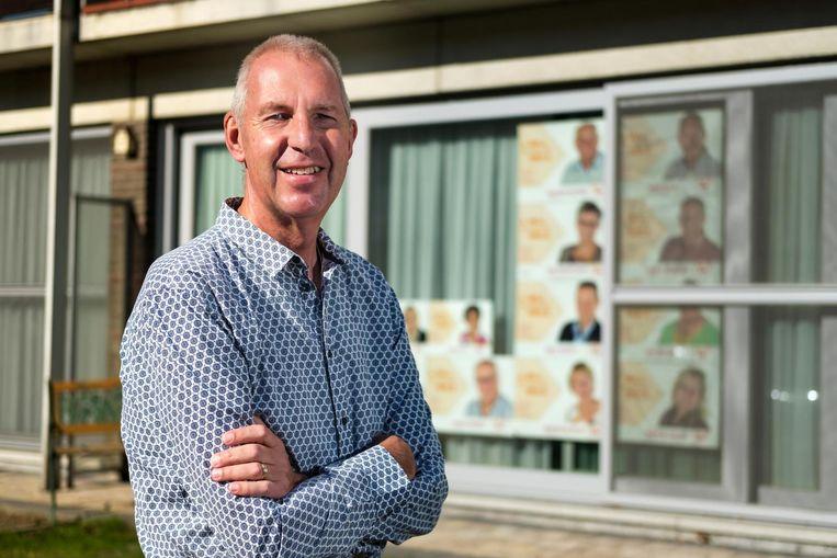 Kris Wils gaat voluit voor de burgemeesterssjerp, ondanks zijn zware ongeluk deze zomer.