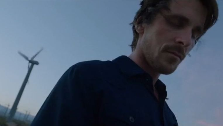 Christian Bale in 'Knight of Cups'.