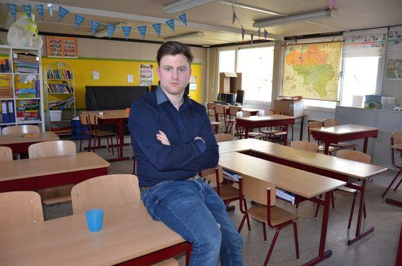 Bart De Maesschalck, leraar lagere school.