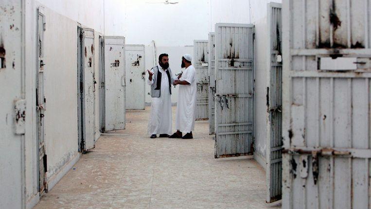 Gevangenis in Libië Beeld epa