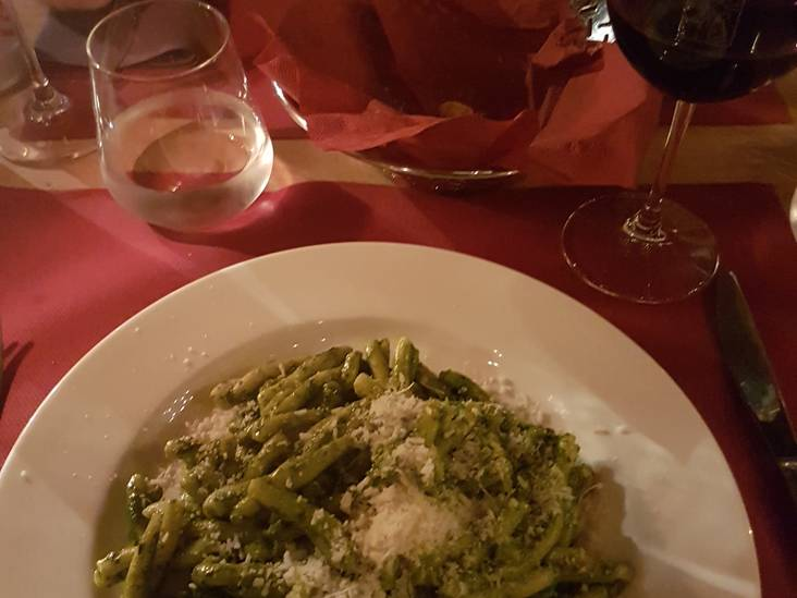Blog vasten: Vegetarische pasta in Italië
