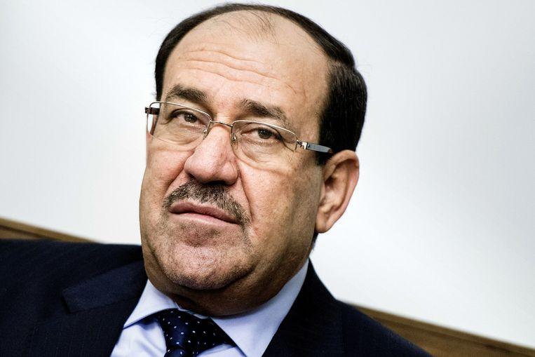 De Iraakse premier Nouri al-Maliki. Beeld ap