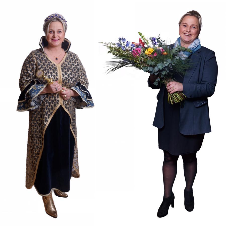 Prinses Carnaval Anik Geppaard uit Chaam is ook uitvaartverzorger in Breda