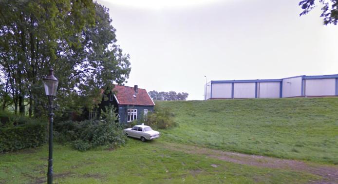 Het houten huisje in Heesbeen aan de Grotestraat.