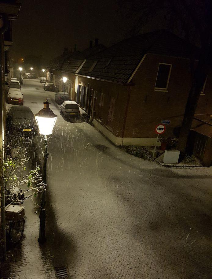 In Tolkamer ook sneeuw.