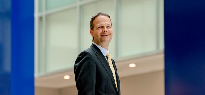 Portret van Ton Büchner, CEO van AkzoNobel.