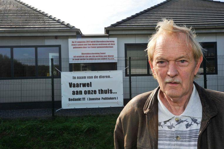 Jef Janssens werd op 31 augustus 2017 definitief uit het Dierenopvangcentrum in Eppegem gezet.