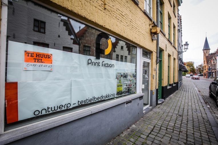 Brugge leegstand: Ezelstraat