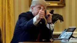 Trump tweette afgelopen weekend 50 keer: bovengemiddeld volgens Trump Twitter Archief