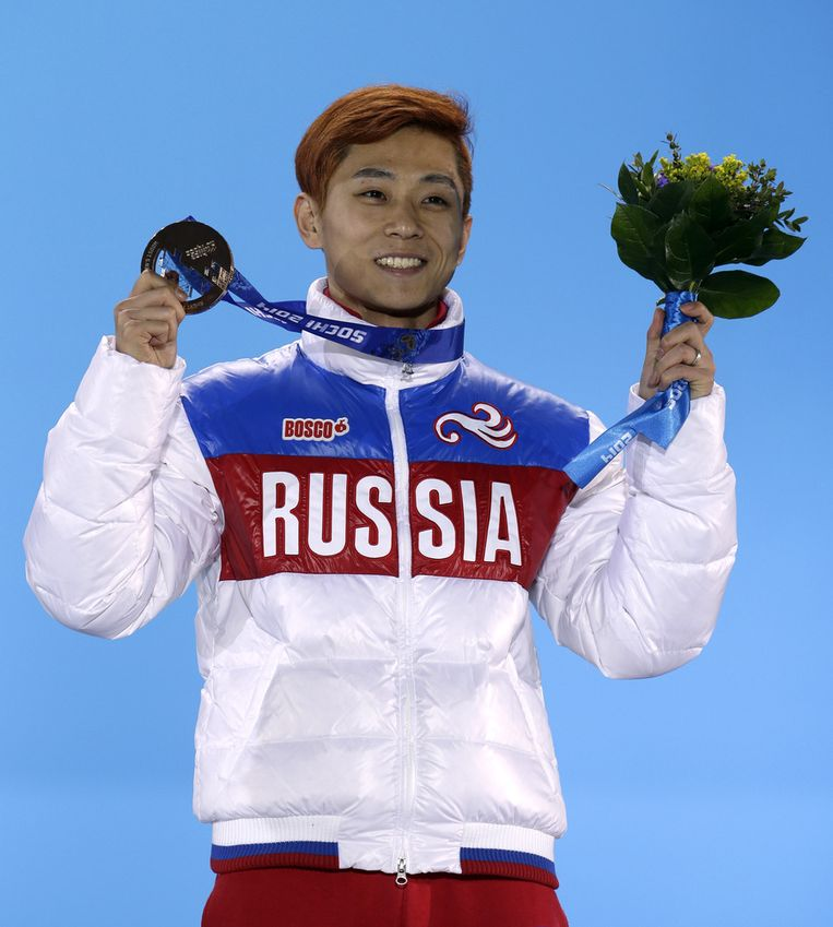 Viktor An na de 1500 meter Beeld ap