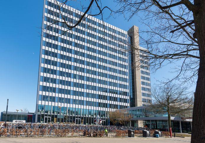 Studentenflat Luna op terrein van de TU Eindhoven.