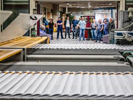 Inventaris Roto Smeets Deventer onder de hamer; gigantische drukpersen en complete papiervoorraad te koop