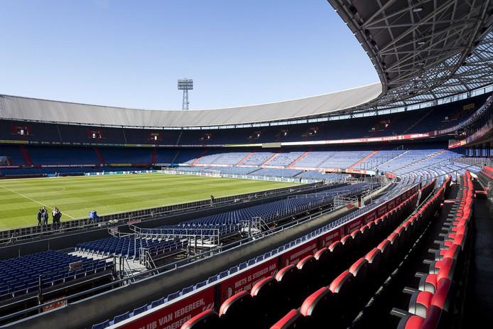 In De Kuip wordt woensdag het duel tussen Feyenoord en Willem II gespeeld.