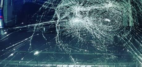 Politiewagen vernield in Gennep