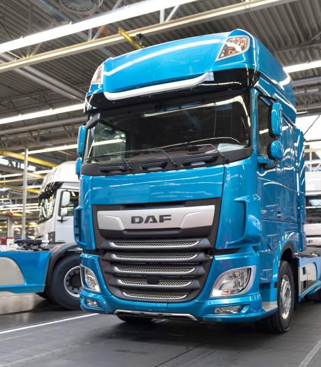 DAF'er is opgelucht om stilleggen productie, toeleverancier voorziet dip