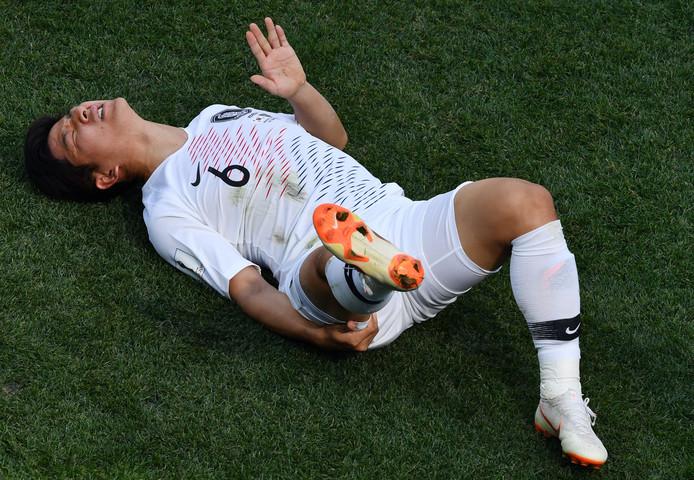 Park Joo-ho moet er met een blessure van af.