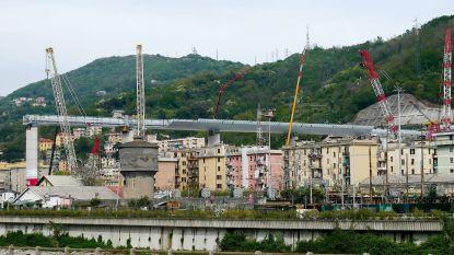 Mijlpaal in bouw nieuwe brug Genua: stalen structuur zo goed als af