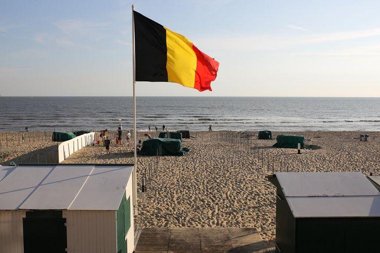 het strand van De Haan
