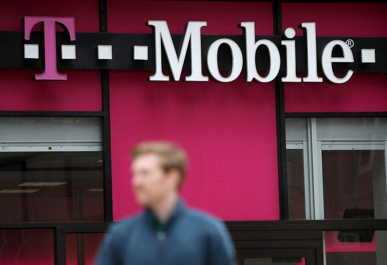 T-Mobile liet miljoenen klanten in de waan met faken 'geen gehoor'. Beeld AFP