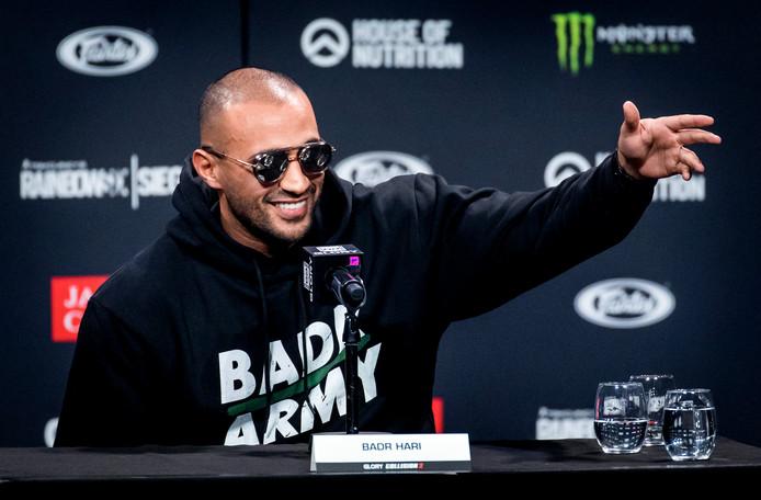 Badr Hari in aanloop naar zijn wereldtitelgevecht bij de bond Glory Kickboxing tegen Rico Verhoeven.