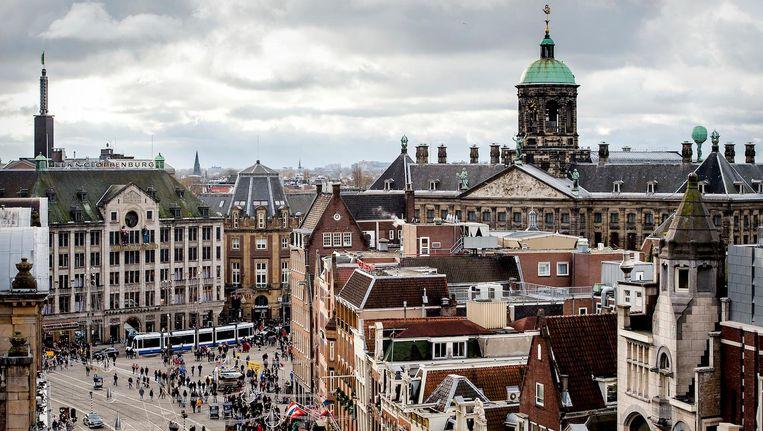 Volgens Wethouder Ivens staan vele etages boven winkels en andere bedrijfsruimten jaren leeg Beeld anp