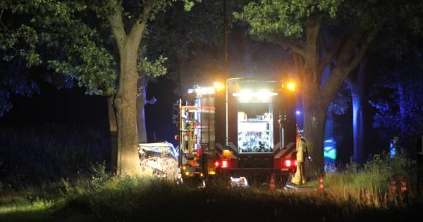 Dode en vier gewonden bij nachtelijk ongeval bij Markelo.