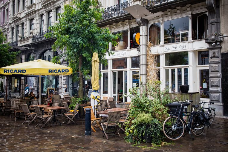 De Faja Lobi in de Vlaanderenstraat.