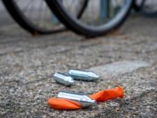 Politie waarschuwt voor gevaar van lachgas