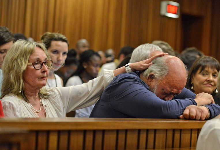 June en Barry Steenkamp, de ouders van het slachtoffer.