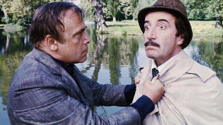 Peter Sellers in Trail of the Pink Panther Beeld