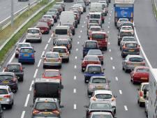 File op A12 richting Utrecht bij Veenendaal lost op: weg weer vrij