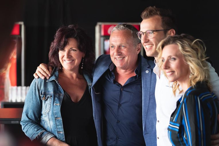 Annick Segal, Ben Van Ostade, Michiel De Meyer en Tine Priem.