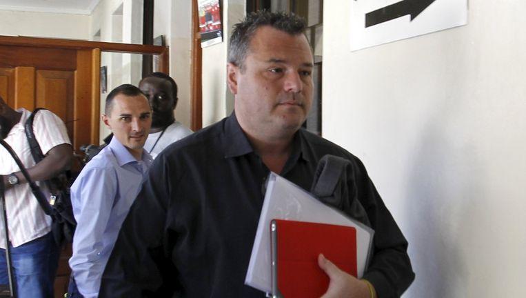 Gabriele Rosa, een Italiaanse atletenmanager, is net als Van de Veen verdachte in de zaak. Beeld reuters