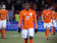 Oranje onder Hiddink: meer verlies dan winst